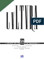 Revista Cultura 58