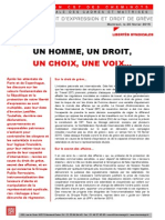 Tract Ufcm Droits Expression Greve