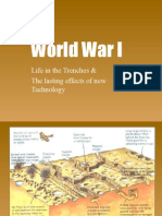 world war i trenches