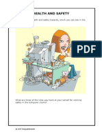 Health and Safety Worksheet