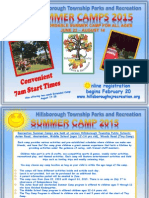 2015 Summer Camp Brochure