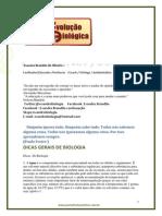 Dicas de BioloGIA - 2013