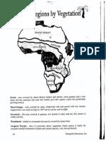 africa veg  map