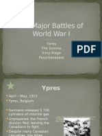 battles of wwi - ap