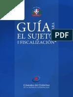 Guía Para El Sujeto de Fiscalizacion - Cámara de Cuentas