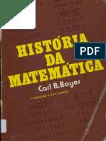 Boyer, Carl B. - História Da Matemática