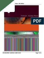 Psychiatric Nursing Care Plans, 5th Edition