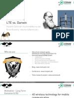 LTE vs Darwin
