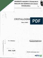 cristalographie