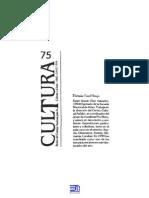 Revista Cultura 75
