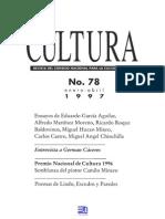Revista Cultura 78