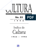 Revista Cultura 83