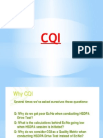 CQI estimation