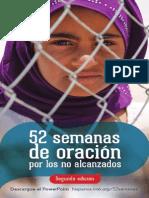 52 Semanas de Oracion Por Los No Alcanzados 2015