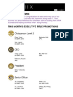 Weekly Title Promotion Week 07