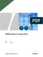 GSM Feature Configuration