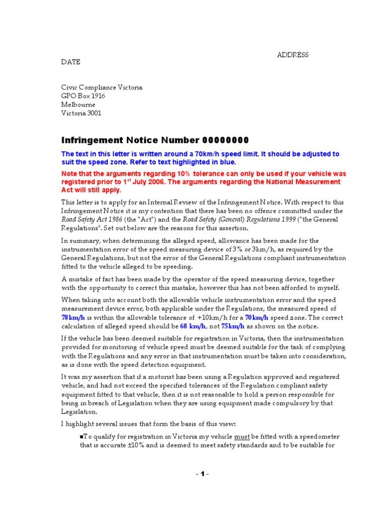 Letter regarding infringment notice safety government information spiritdancerdesigns Gallery