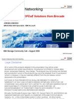 Brocade FCoE Storage Community Call