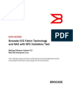 Brocade VCS Fabric Technology and Network Attached Storage (NAS) With Network File System (NFS)