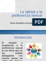 La Iglesia y La Preferencia Sexual