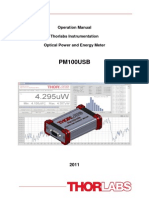 Pm100usb Manual