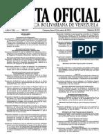 Gaceta Oficial Nº 40332 - Manual de Requisitos Únicos y Obligatorios Para La Tramitación de Actos o Negocios Jurídicos en Los Registros Principales Mercantiles, Públicos y Notarias