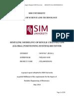 Simulink Modeling of Single Channel Gps