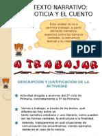 4º Textos Literarios,Narrativo La Noticia y El Cuento