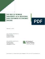 Rowan University Economic Impact Report