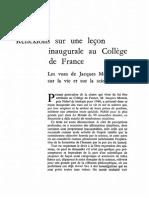 Compagnie de Jésus. Études (1945). 1945. - N0441825_PDF_1_-1DM F. Russo (LI de Jacques Monod)