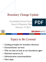Huntley School District 158 presentation on Leggee Elementary boundary change