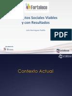 Proyectos Sociales Fortalece 2015