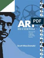 Art in Cinema - Documents Toward a History of the Film Society