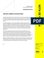 Comunicado de Prensa  Amnistía Internacional 20 Feb 2015.pdf