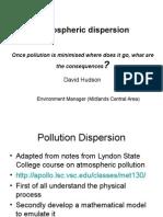 Pollution Dispersion Presentation