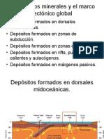 Yacimientos minerales y el marco tectónico global.ppt