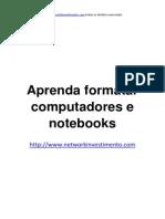 Aprenda Formatar Computadores e Notebooks