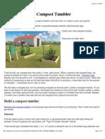 DIY_build Compost Tumbler