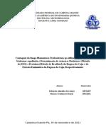 Relatório Microbiologia
