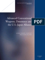 Advanced Conventional Weapons, Deterrence and the U.S.-Japan Alliance