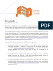 Comunicado Audiencia IFT