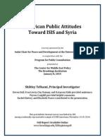 American Public Attitudes Toward ISIS and Syria