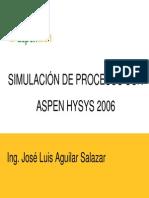 HYSYS Procesos Del Gas