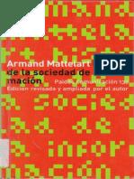 Mattelart Armand Historia de La Sociedad de La Informacion