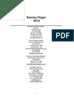 Sammy Hagar Rider