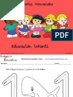 Cuadernillo 40 Actividades Eduación Infantil