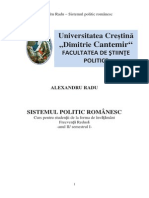 Sistemul Politic Romanesc