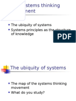 1 the Systems Thinking Movement