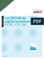 Infos Sur Le OPCVM
