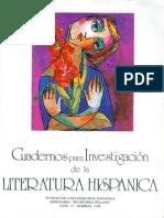 Cuadernos Para La Investigación de La Literatura Hispanica-13